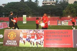 Manchester United Soccer School India